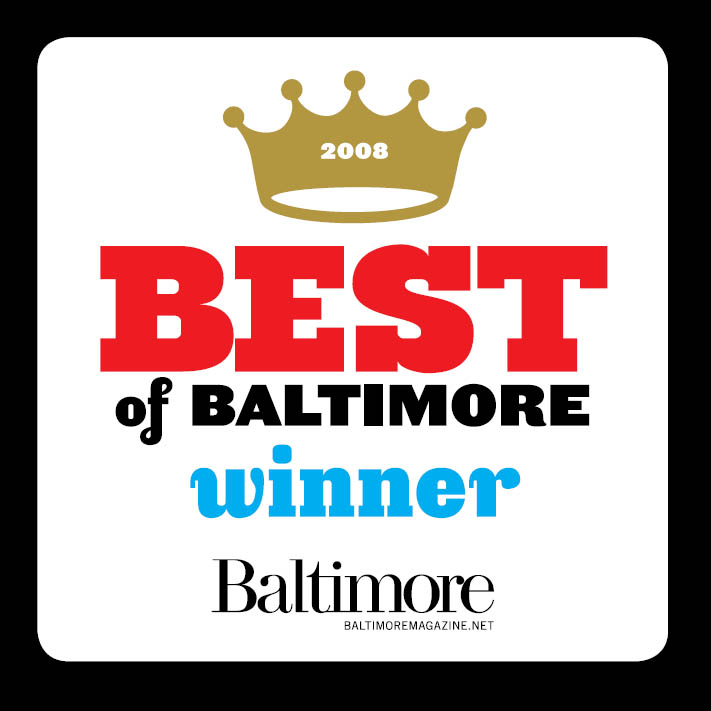 2008 Best of Baltimore Winner Baltimore Magazine